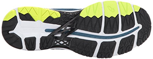 93557b103be ASICS Mens Gel-Kayano 24 Running Shoe, Ink Blue/Black/Safety Yellow, 9.5  Medium US