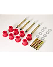Prothane 1-814 Red Greasable Front Shackle Bushing Kit for CJ5, CJ7 and CJ8