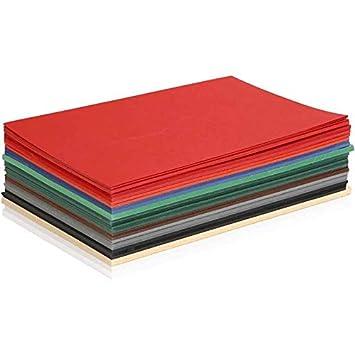 DIN A4-300 Blatt artdee/® 10 verschiedene Farben Weihnachtskarton//Bastelkarton//Tonpapier