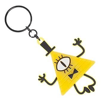 Gravity Falls - Bill Cipher LED Keychain