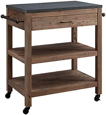 Amazon.com - Furniture HotSpot - Freestanding Kitchen Island ...