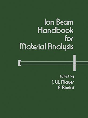 Ion Beam Handbook for Material Analysis (Casebound)