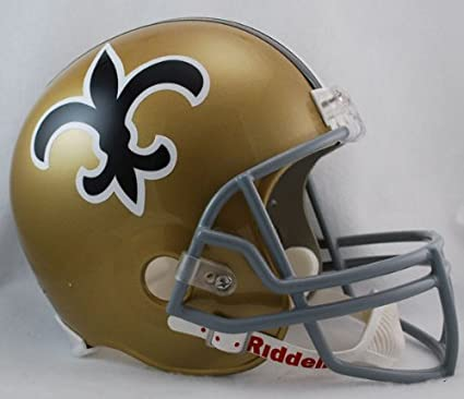 Image Unavailable. Image not available for. Color  NFL Riddell New Orleans  Saints ... cfff931db