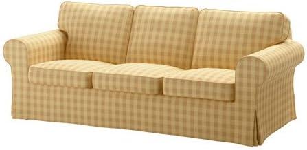 Amazon.com: IKEA Sofa, Skaftarp yellow 8204.261117.630 ...