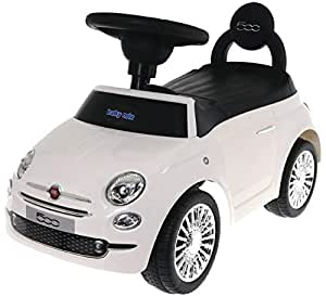 Baby Mix Fiat 500 antideslizante Auto hz620 (Color Blanco): Amazon ...