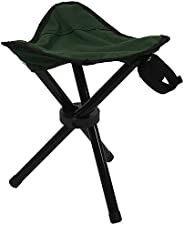 Bzocio Folding Tripod Stool Outdoor Portable Camping Lightweight Fishing Chair New