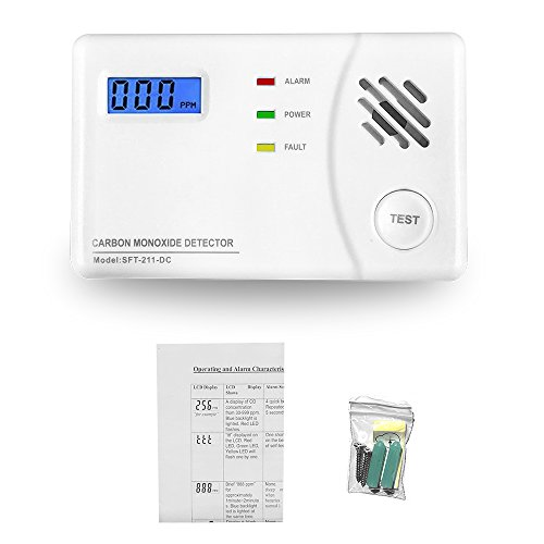 Carbon Monoxide Detector Alarm with Digital Display for Home, Travel Portable Battery Operated CO Sensor Alarm/Monitor by Lecoolife (Image #6)