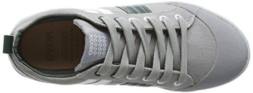 Geox Kiwi Boy I - Zapatos para niños Gris (Grey/Green)