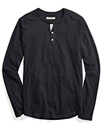 Men's Long-Sleeve Lightweight Slub Henley