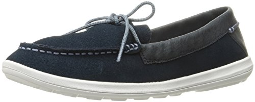 Helly Hansen Women's W Faerder Deck Fashion Sneaker, Navy/Dusty Blue/Magenta, 8 D US