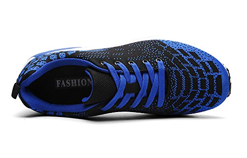 Running Fitness Men No up Flat Flyknit Sneakers 66 Blue Shoes Town Lace Y7n7Wzqf