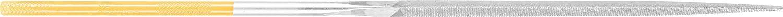 Pack of 12 Cut 2 PFERD 15223 Corinox Machinists Needle Three-Square File Swiss Pattern 7 Length