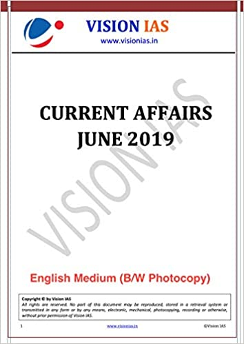 Buy [June-19] Vision IAS Monthly Current Affairs Magazine
