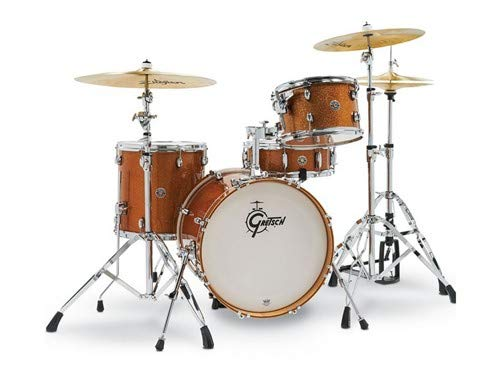 Gretsch Drums Drum Set, Bronze Sparkle (CT1-J484-BS)