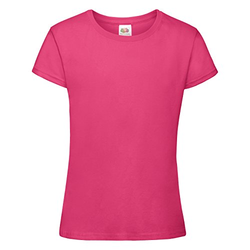 Fruit of The Loom Big Girls Sofspun Short Sleeve T-Shirt