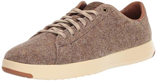 Cole Haan Men's Grandpro Tennis Sneaker, Soft sage Wool/Suede, 10.5 M US