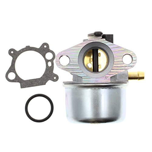799868 Carburetor Fits Briggs & Stratton 498170 497586 497314 698444 498254 497347 Models with Gasket and O-Ring, 4-7 hp Engines with No Choke (799868) (6 Hp Engine)