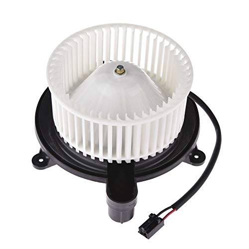 TOHUU 700168 Heater Blower Motor w/Fan Cage Front for Jeep Grand Cherokee 2005-2010 Commander 2006-2010
