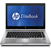 HP 14 Inch Elitebook 8460 Laptop for Business (Intel Core i5 2.5GHz, 4GB, 128G SSD, Windows 7 Professional 64-bit (Certified Refurbished)