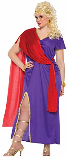 Forum Women's Plus Size Roman Empress Costume, As Shown, -