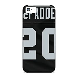 Protector Hard Cell-phone Case For Iphone 5c With Provide Private Custom High-definition Oakland Raiders Pattern SherriFakhry