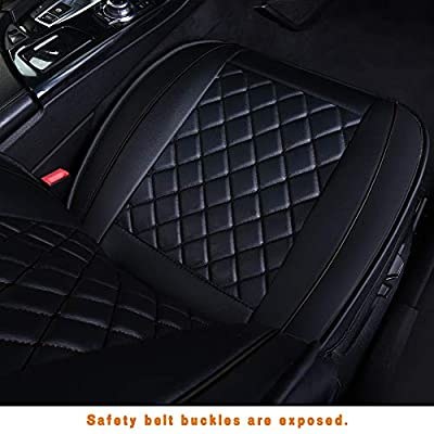 LUCKYMAN CLUB Car Seat Covers for 2 Front Seat Fit Most Sedan SUV Truck Van - Nicely Fit for Chevy Cruze Equinox Malibu Impala Silverado - Airbag Compatible: Automotive