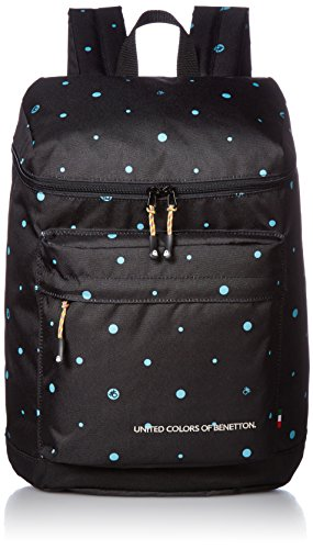 [Benetton] Square Daypack 2BE8361DP Black
