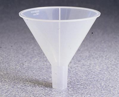 Nalgene Polypropylene Powder Funnel, 3.11 Inches (Case of 36) by Nalgene