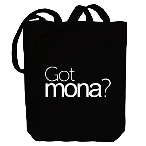 Mona Got Idakoos Female Names Got Idakoos Female Tote Mona Bag Names Canvas 51YawxqB