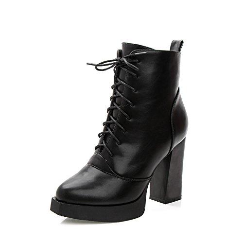 hohen winter baumwolle wasserfeste stiefel KPHY neuen samt schuhe stiefel mit die schuhe spitzen und absätzen grob stiefel martin qnn40xE