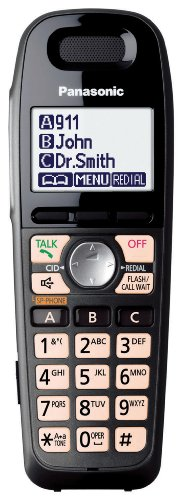 Titanium Black Extra handset accessory-Cordless Telephones-DECT 6.0 Cordless Pho