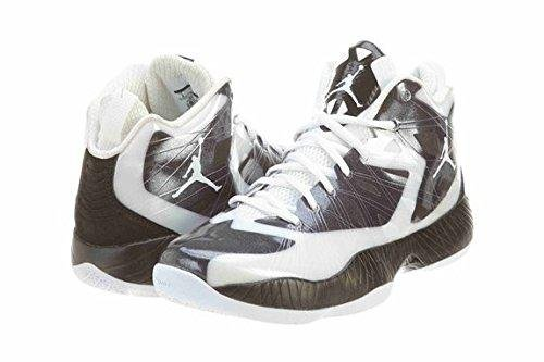 Nike Basketball Men's Lite Jordan US Air Black 11 Shoe 2012 White rnBxqrX6d