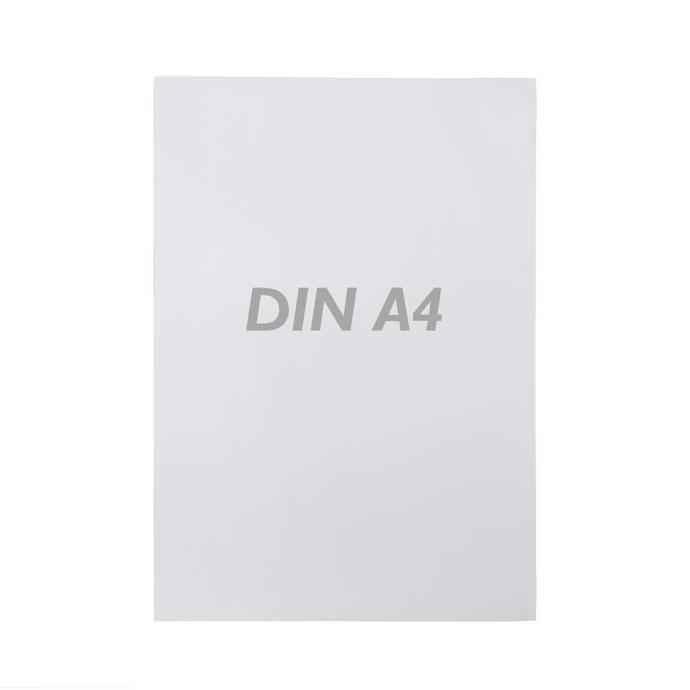 PrimeMatik - Cartel etiqueta magnética flexible blanca A4 ...