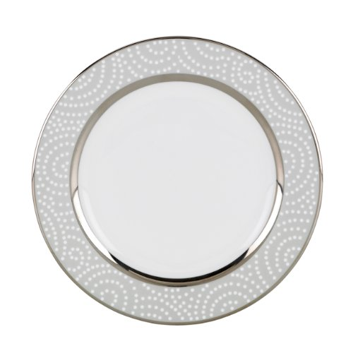 Lenox Pearl Beads Butter Plate by Lenox