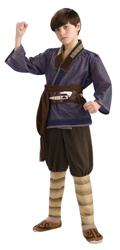 The Last Airbender Child's Deluxe Costume, Sokka Costume - Avatar Last Airbender Halloween Costume