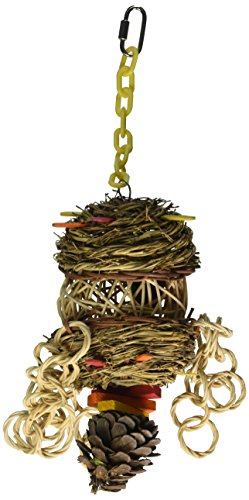 Paradise Overflow Wreath Pet Toy, 5 by 15-Inch