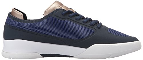 Lacoste Womens Light Spirit Elite 117 2 Fashion Sneaker Blu Scuro