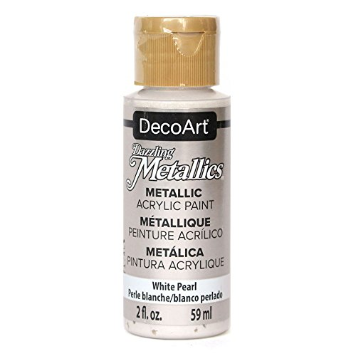 allics 2-Ounce White Pearl Acrylic Paint ()