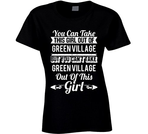 Jokertshirt You Can Take The Girl Out of Green Village New Jersey But Can't Take City Out of The Girl T Shirt 2XL - Village New Kids Jersey