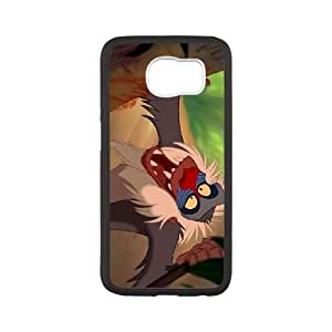 Samsung Galaxy S6 Phone Case Cover White Disney The Lion King Character Rafiki 09 EUA15996475 Cheap Phone Case Plastic