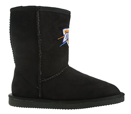 Oklahoma City Thunders Nba Den Ultimata Fan Kvinna Boot, Svart