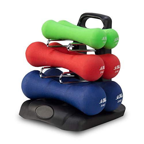 Jll Dumbbell Set: JLL® Ergonomic Neoprene Dumbbells Set Hand Weight Exercise