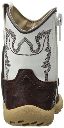 Pictures of Roper Cowbaby Ostrich Western Boot (Infant/Toddler) 8