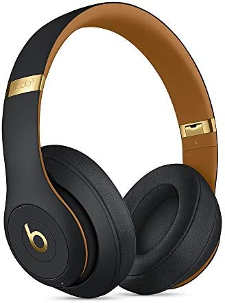 Beats Studio_3 Wireless Headphones The Skyline Collection with Carrying Case Midnight Black
