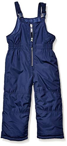 Carter's Boys' Little Snow Bib Ski Pants Snowsuit, Navy Blue, 5/6