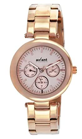 Axcent Damen-Armbanduhr Connection Analog Quarz Rosa IX5537R-032