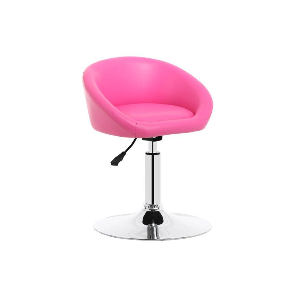 DALL カウンターチェア FL-97リング状の座席 高い足 スツール バースツール 朝食バー スツール 回転可能な L ドロップ 高い61-73cm (色 : ピンク ぴんく) B07DHDKSXV ピンク ぴんく ピンク ぴんく