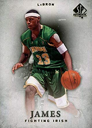 2012 2013 Lebron James Upper Deck SP Authentic Series Mint Basketball Card  Picturing Him in His 91227e71772a