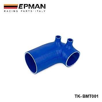 EPMAN-silicona Intercoole Radiador Turbo manguera de admisión de acoplador de arranque w / 3.5