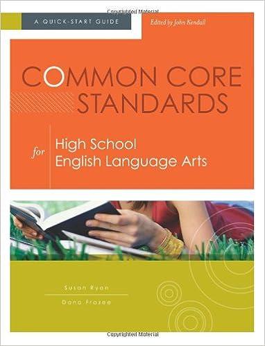 Amazon.com: Common Core Standards for High School English Language ...